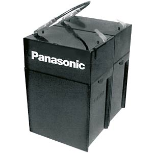 Rechargeable lead fleece battery, 12 volt, 4.5 Ah, 70 x 97 x 102 PANASONIC LC-R124R5P