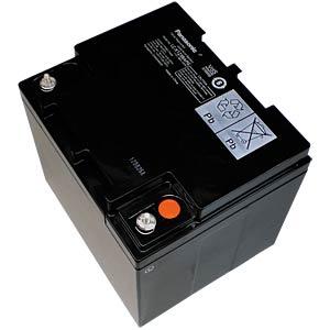 Maintenance-free rechargeable lead fleece battery, 38 Ah, 12 V PANASONIC LC-P1238APG