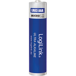 Alkaline Batterie, AAA (Micro), 8er-Pack LOGILINK LR03F8