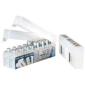 Akkubox für 8 Mignon-/Micro-Akkus ANSMANN 4000033