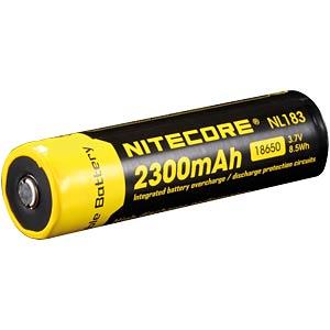 Nitecore Li-Ion 18650 Zelle mit PCB, 2300 mAh NITECORE NL1823