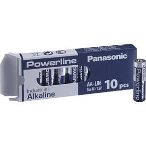 Alkaline Batterie, AA (Mignon), 10er-Pack PANASONIC LR6AD/10BB