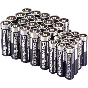 Panasonic AA (20x) / AAA (12x) pack of 32 batteries PANASONIC