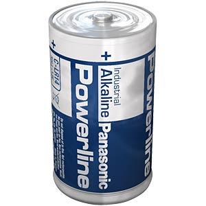Alkaline battery, LR14, 1.5-volt, 8100 mAh PANASONIC LR14AD