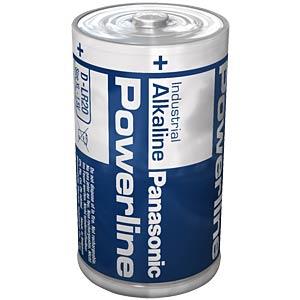 Alkalinebatterij, LR20, 1,5 volt, 18000mAh PANASONIC LR20AD