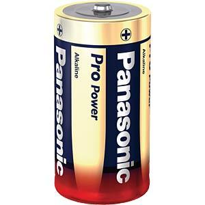 Alkaline battery, LR14, 1.5-volt, Panasonic PANASONIC LR14PPG/2BP