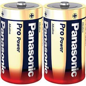 Alkaline Batterie, D (Mono), 2er-Pack PANASONIC LR20X/2BP