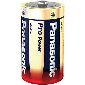 Alkalinebatterij, LR20, 1,5 volt, Panasonic PANASONIC LR20X/2BP