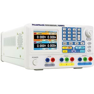 Labornetzgerät, 30 V, 3 A PEAKTECH P 6180
