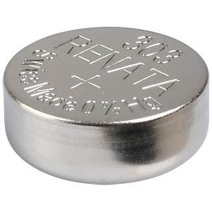 Silberoxid-Knopfzelle, 303, 175 mAh, 11,6 x 5,4 mm RENATA 303