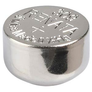 Silberoxid-Knopfzelle, 309, 80 mAh, 7,9 x 5,4 mm RENATA 309