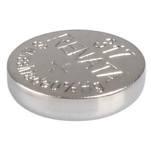 Silberoxid-Knopfzelle, 317, 10,5 mAh, 5,8 x 1,6 mm RENATA 317