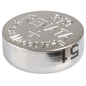 Silberoxid-Knopfzelle, 319, 21 mAh, 5,8 x 2,7 mm RENATA 319