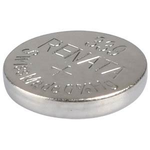 Silberoxid-Knopfzelle, 339, 11 mAh, 6,8 x 1,4 mm RENATA 339