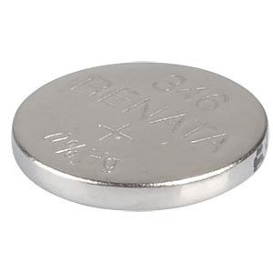 Silberoxid-Knopfzelle, 346, 9,5 mAh, 7,9 x 1,2 mm RENATA 346