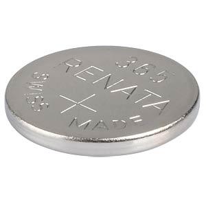 Silberoxid-Knopfzelle, 365, 47 mAh, 11,6 x 1,6 mm RENATA 365