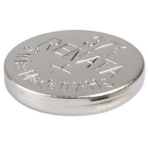 Silberoxid-Knopfzelle, 371, 35 mAh, 9,5 x 2,1 mm RENATA 371