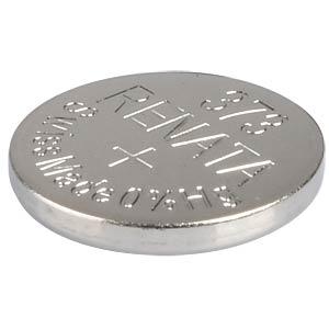 Silberoxid-Knopfzelle, 373, 29 mAh, 9,5 x 1,6 mm RENATA 373