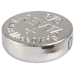 Silberoxid-Knopfzelle, 376, 27 mAh, 6,8 x 2,6 mm RENATA 376