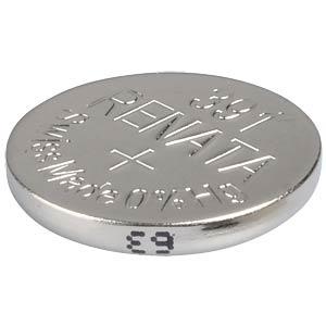Silberoxid-Knopfzelle, 391, 50 mAh, 11,6 x 2,1 mm RENATA 391