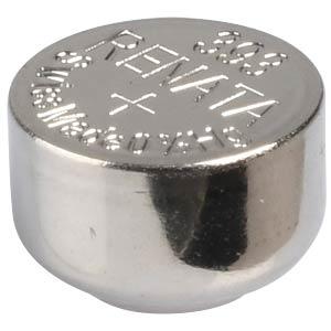 Silberoxid-Knopfzelle, 393, 80 mAh, 7,9 x 5,4 mm RENATA 393