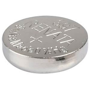 Silberoxid-Knopfzelle, 397, 32 mAh, 7,9 x 2,6 mm RENATA 397