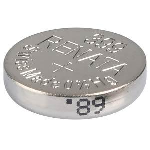 Silberoxid-Knopfzelle, 399, 53 mAh, 9,5 x 2,7 mm RENATA 399