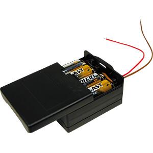 Batterijhouder voor 8 mignoncellen (AA) MEMORY PROTECTION DEVICES BK-6049