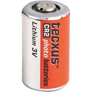 TECXUS CR 2 - Lithium Batterie, CR2, 800 mAh, 1er-Pack