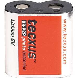 Lithium photo battery, 6 V, 36x34x19 mm TECXUS CR-P2P