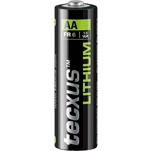 TECXUS Batterie Lithium Power Mignon AA 2-Set TECXUS FR 6 2-BL