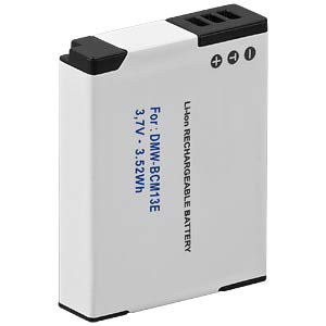 Li-ion camcorder battery 3.7V 950mAh, for PANASONIC FREI