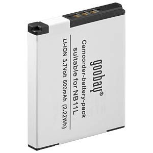 Li-ion camcorder battery 3.7V 600mAh, for Canon FREI