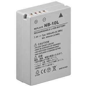 Li-ion camcorder battery 7.4V 820mAh, for Canon FREI