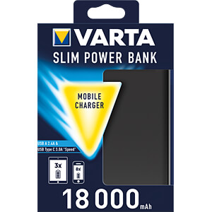 Powerbank, Li-Ion, 18000 mAh, USB-C VARTA 57967101111