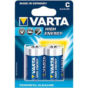 VARTA alkaline battery, baby LR14, pack of 2 VARTA 04914 121 412