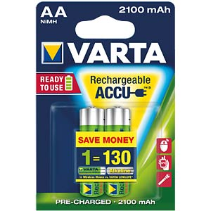 VARTA Ready-2-Use, 2xMignon, 2100mAh VARTA 56706 101 402