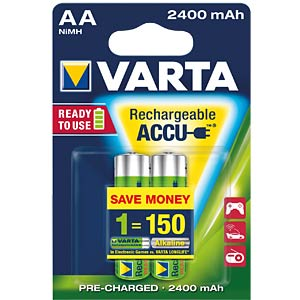 VARTA Ready-2-Use, 2xmignon, 2400mAh VARTA 56756 101 402
