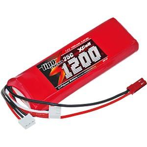 XCell LiPo cracker 7.4V / 1200mAh XCELL 134441