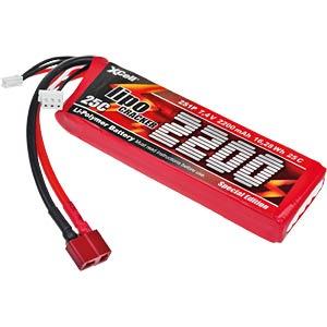 Akku-Pack, Li-Polymer, 7,4 V, 2200 mAh, 35 C XCELL 134443