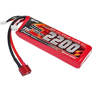 XCell LiPo Cracker CAR 7,4V / 5400mAh XCELL 134550