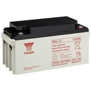 YUASA AGM battery, 65 Ah, 12 V, VdS YUASA NP65-12I