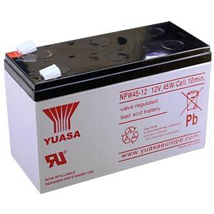 YUASA Hochstromakku, 12 V, 45 Watt/Zelle YUASA NPW45-12