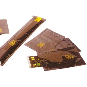 PE shielding bag, highshield, 75 x 125 mm STAT-X 03-0104-20305