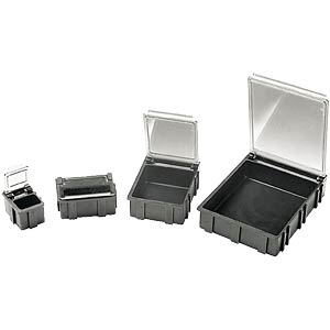 SMD folding box, transparent lid, 68 x 57 x 15 mm WARMBIER 5100.883