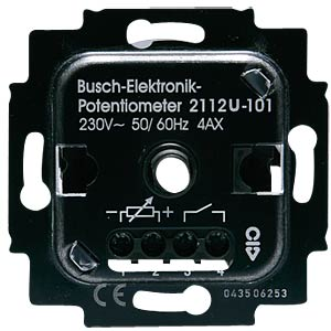 Electronic potentiometer insert BUSCH-JAEGER 2112 U-101