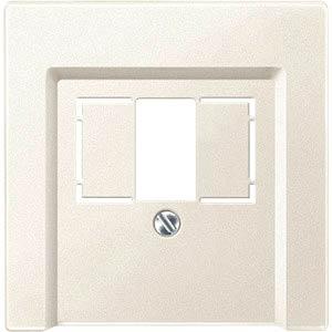 Zentralplatte - System M, TAE/Audio/USB, ws MERTEN 297944
