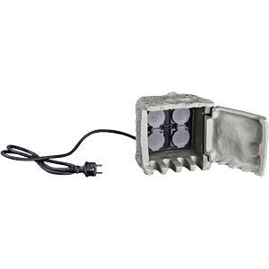 Distributor with 4 sockets HEITRONIC 35114
