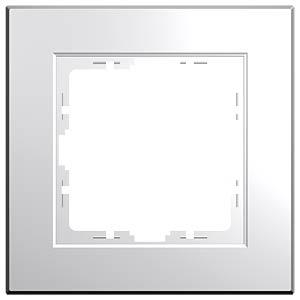 Abdeckrahmen - 1-fach, HK07, reinweiß KOPP 402129000