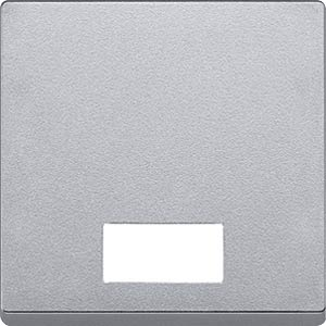 System M, Wippe, Symbolfenster, aluminium, edelmatt MERTEN 433860